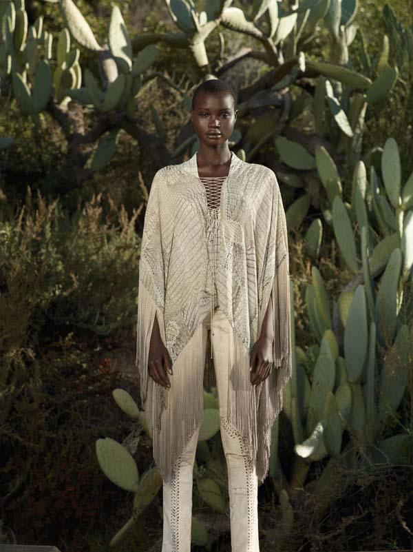 Ataui Deng by Mark Segal for Bergdorf Goodman Spring 2011