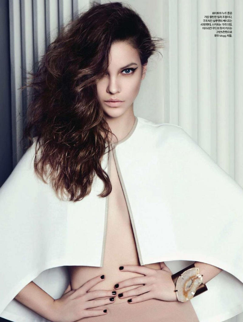 Barbara Palvin for Harper's Bazaar Korea April 2011 by Rama