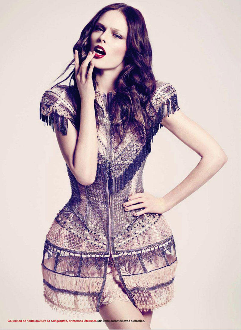 Coco Rocha for Elle Quebec May 2011 by Nelson Simoneau