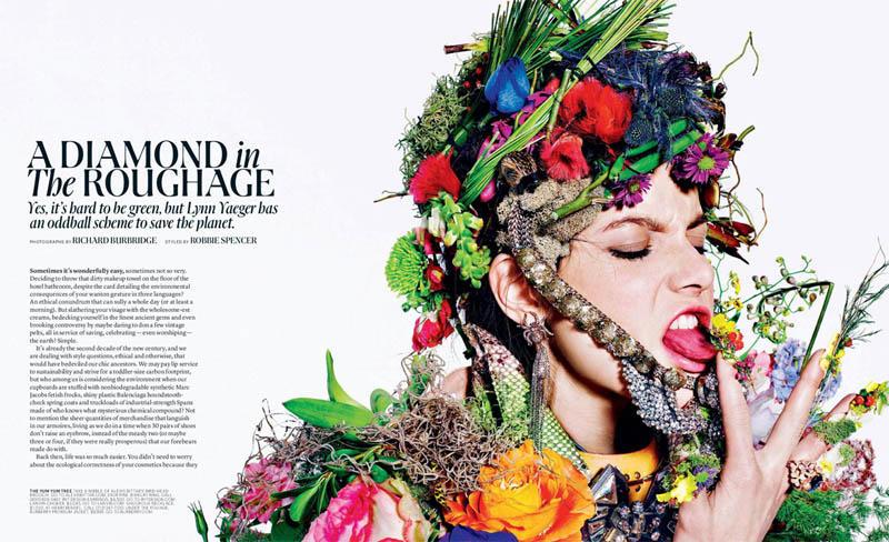 Tati Cotliar by Richard Burbridge for T Magazine Summer 2011
