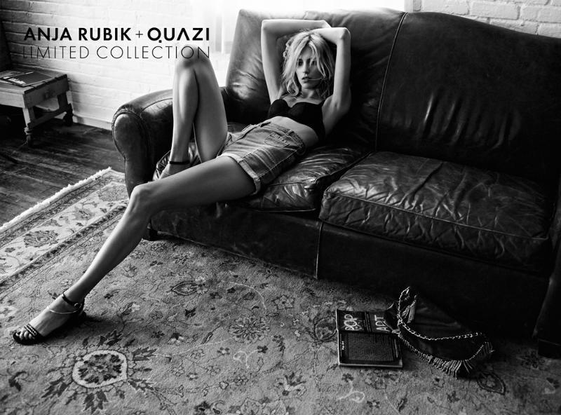 Anja Rubik + Quazi Spring 2011 Campaign by Artur Wesolowski