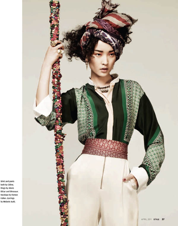 Du Juan by Zach Gold for Style SCMP April 2011