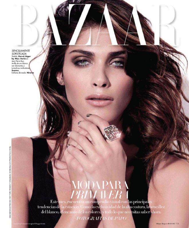 Elisa Sednaoui by Papo for Harper's Bazaar Mexico May 2011