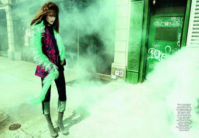 Freja Beha Erichsen by Inez & Vinoodh for Vogue Paris May 2011