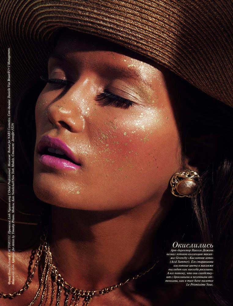 Kate Netolicka by Jamie Nelson for Vogue Russia May 2011