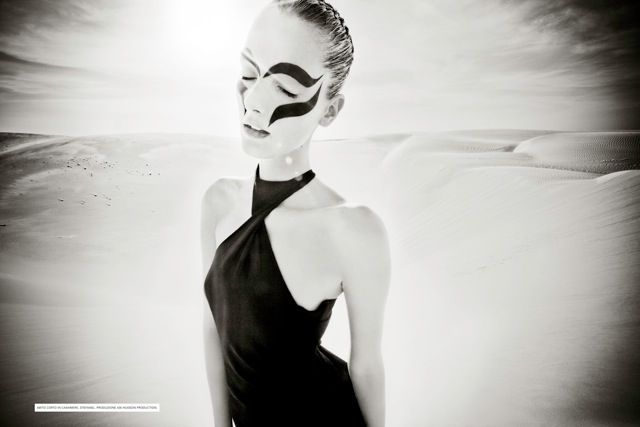 Denisa Dvorakova by Jean-François Campos for Flair April 2011