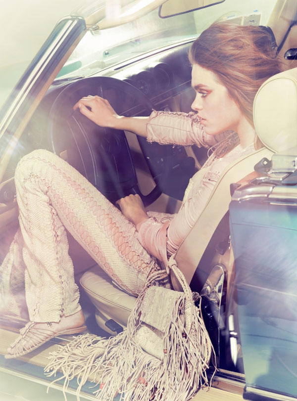 Sophie Vlaming by Taki Bibelas for Marie Claire Italia May 2011
