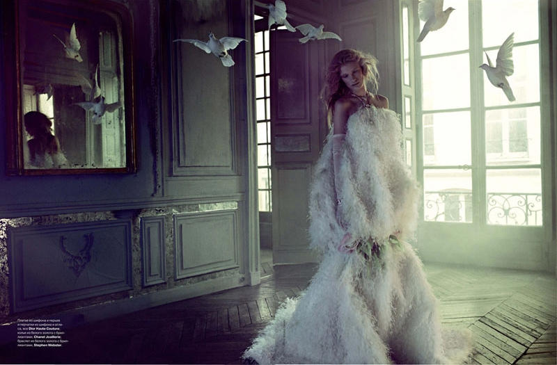 Ilse de Boer by Bruno Dayan for Tatler Russia May 2011