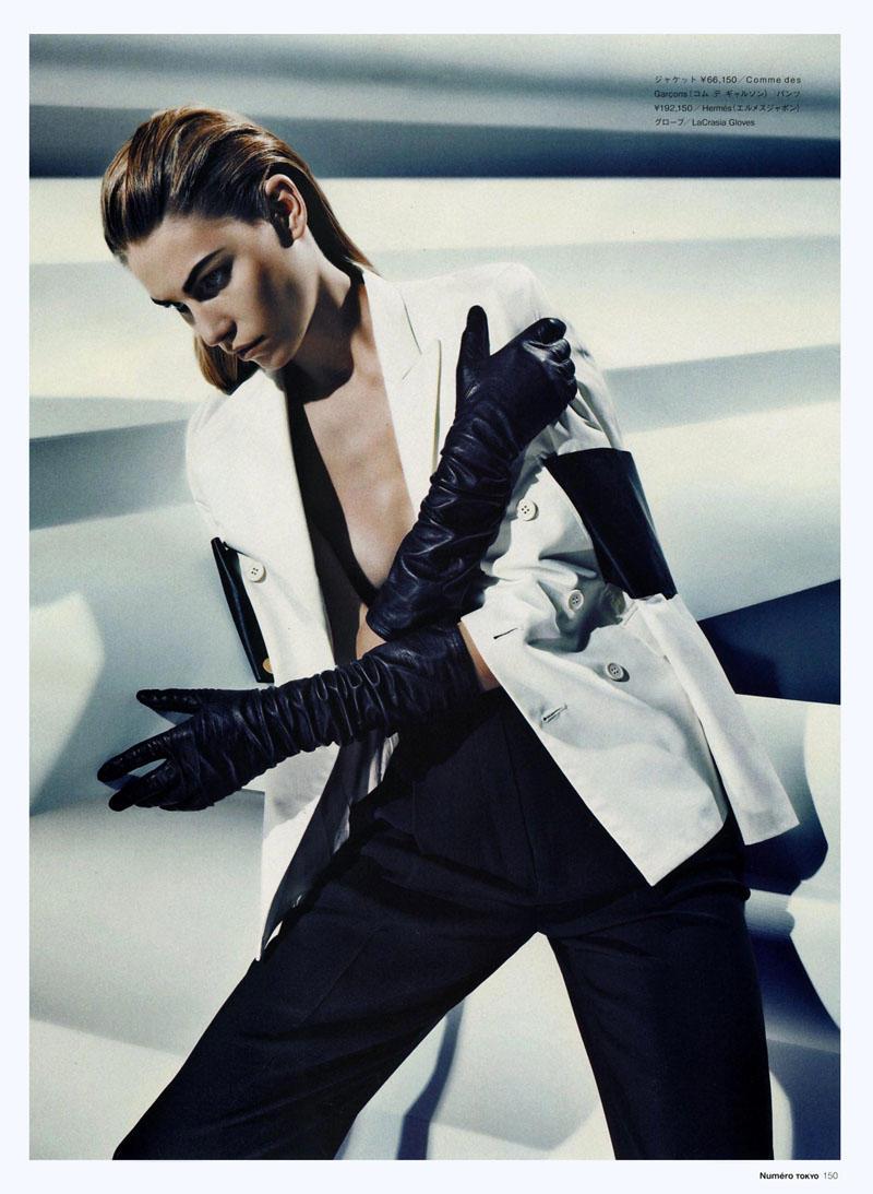 Aline Weber by Sebastian Kim for Numéro Tokyo June 2011