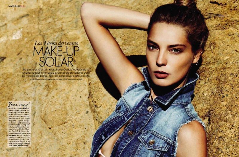 Daria Werbowy by Derek Kettela for Elle Spain May 2011