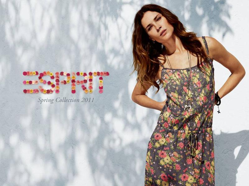 Esprit Spring 2011 Campaign   Erin Wasson by Peter Gerhke