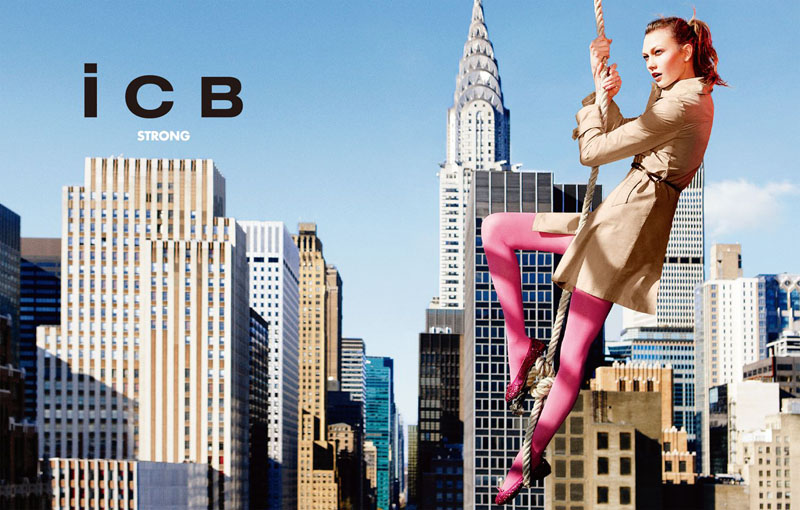 Karlie Kloss for iCB Spring 2011 Campaign by Ryan McGinley