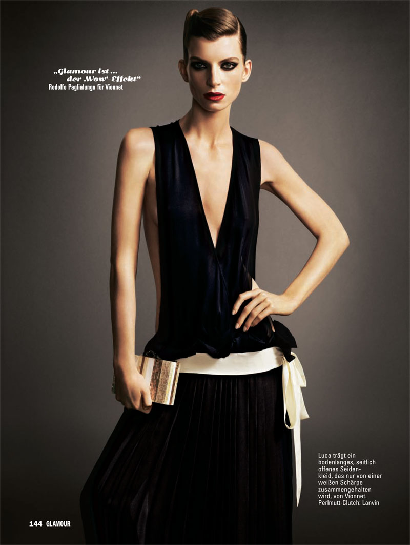 Luca Gadjus by Matthias Vriens-McGrath for Glamour Germany May 2011
