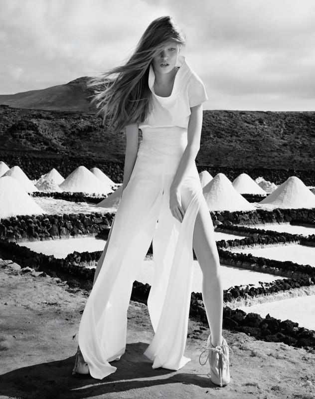 Luisa Bianchin by Thomas Krappitz for Marie Claire Italia May 2011