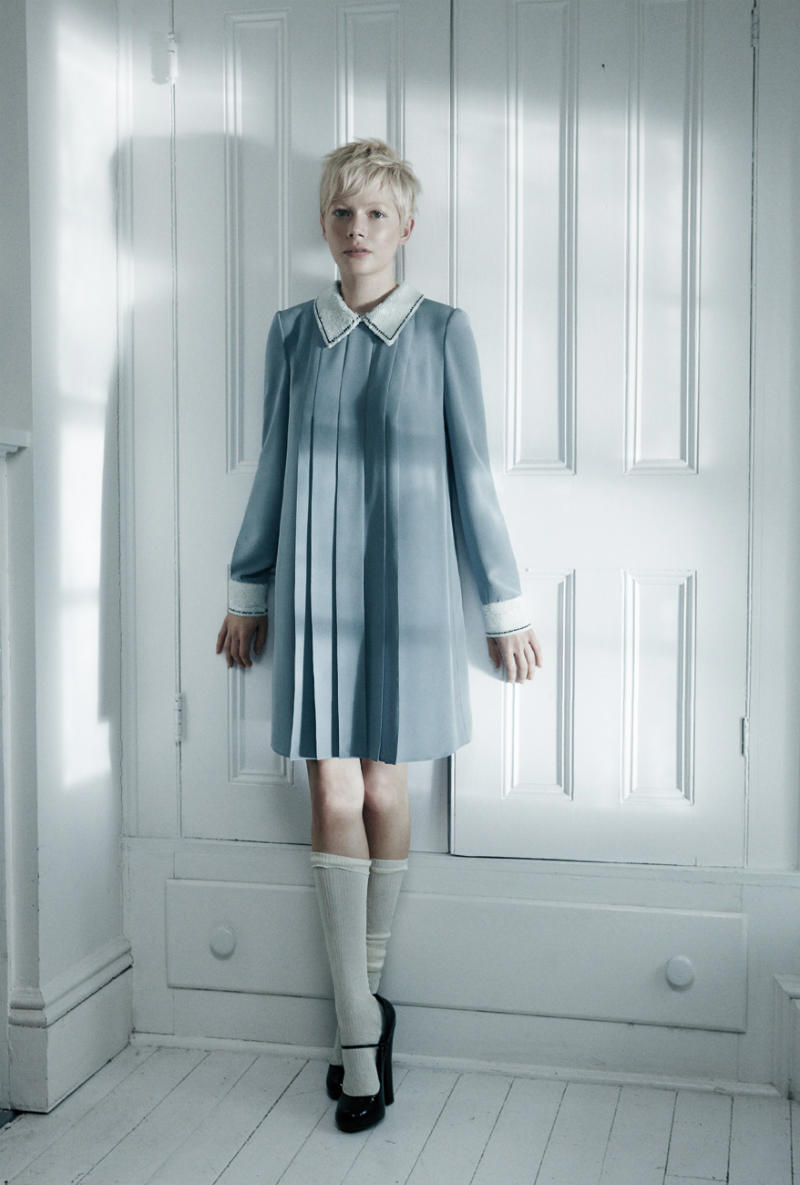 Michelle Williams for Interview May 2011 by Mikael Jansson