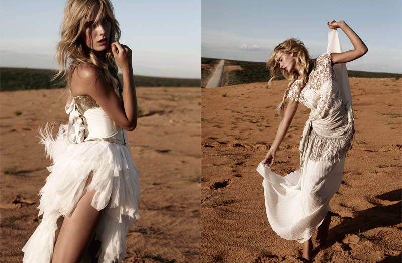Aleksandra Nilsen by Asa Tallgard for Elle Norway