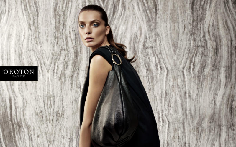 Daria Werbowy for Oroton Fall 2011 Campaign