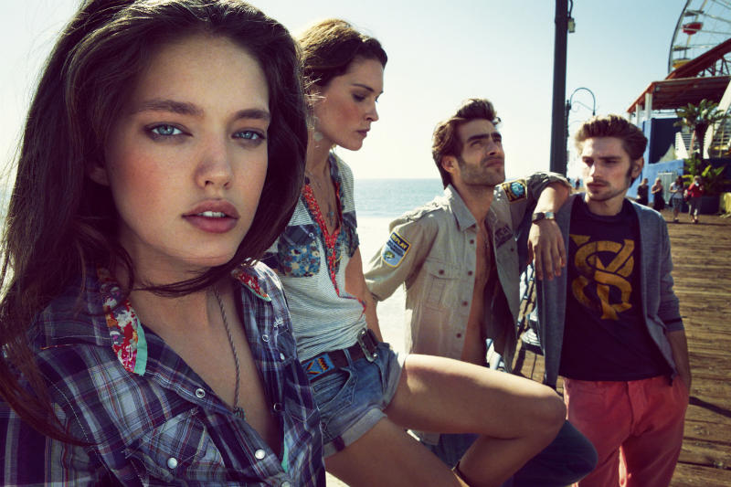 Erin Wasson & Emily DiDonato for Replay Spring 2011 Campaign by Chad Pitman