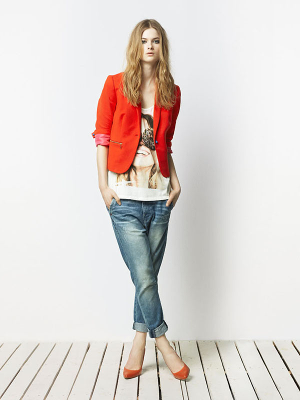 Zara TRF April 2011 Lookbook: Bo Don