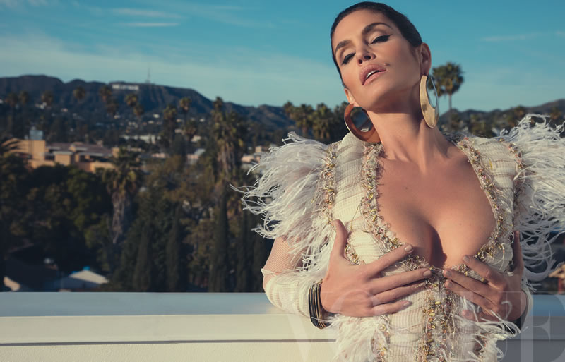 Cindy Crawford for Vogue Mexico  May 2011 by Tesh
