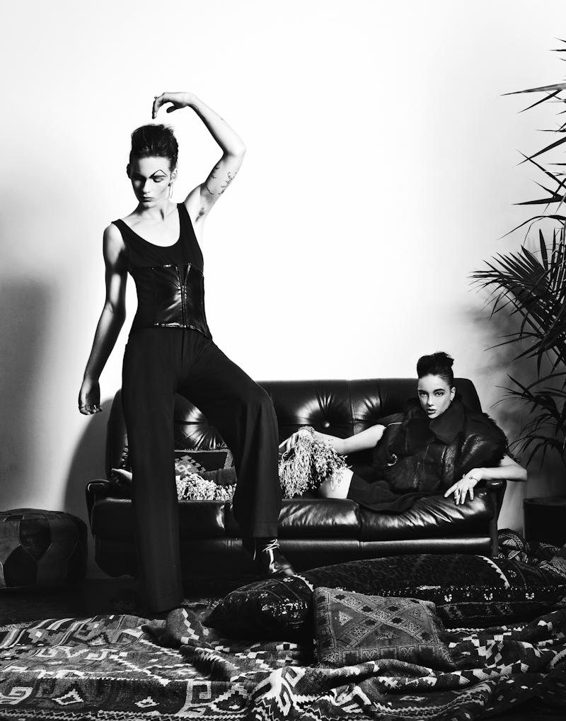 Hirschy & Rebecca Victoria by Zac Steinic for Down With Everything