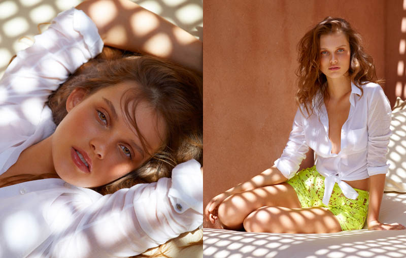 Giedre Dukauskaite by Alexandre Weinberger for L'Express Style