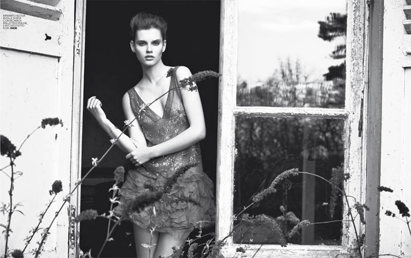 Giedre Dukauskaite by Paul Schmidt for Marie Claire Italia May 2011