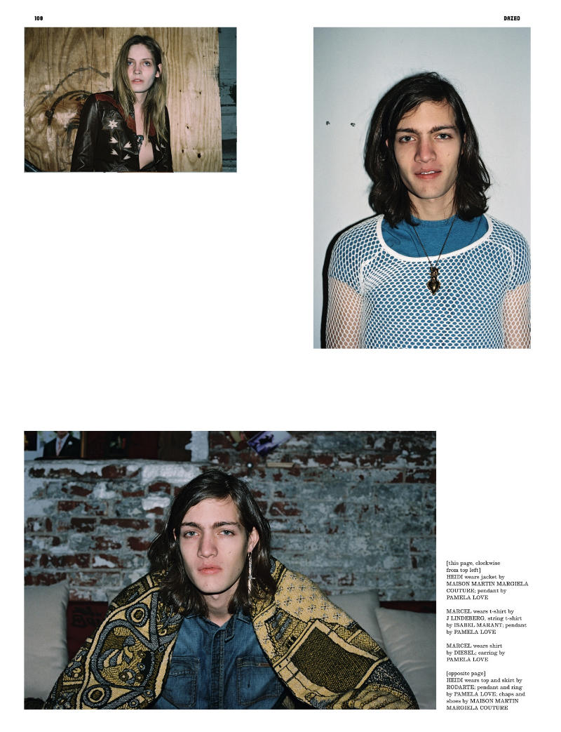Heidi Mount by Ari Marcopoulos for Dazed & Confused May 2011
