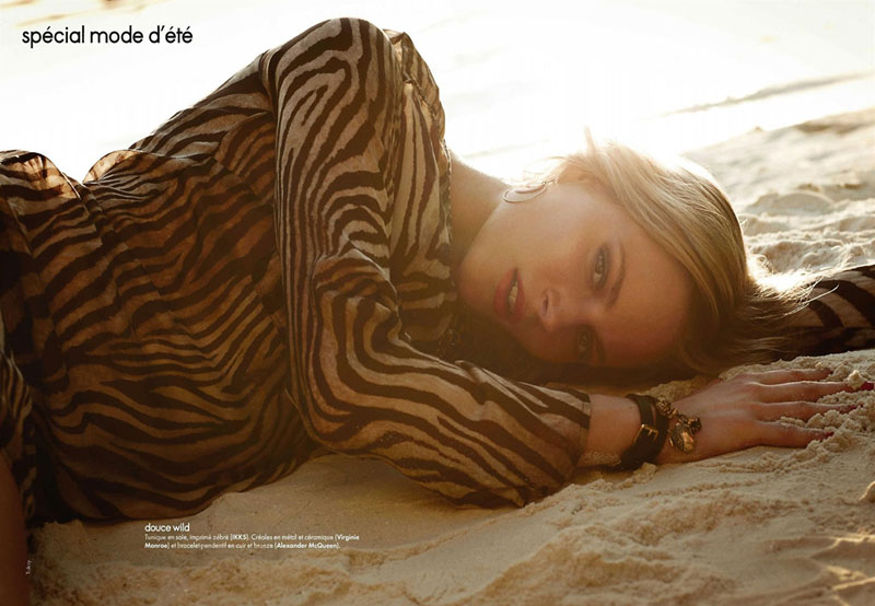 Ieva Laguna for Elle France by Takay
