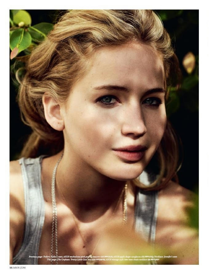 Jennifer Lawrence for ASOS June 2011 by Benny Horne