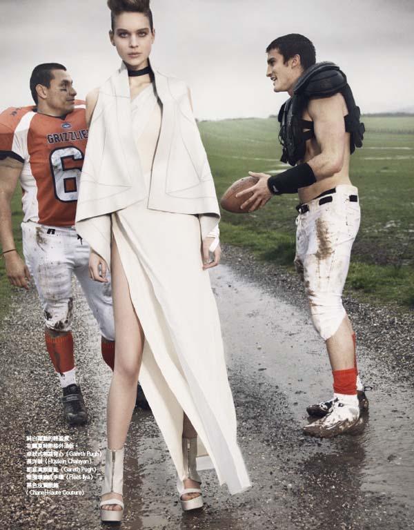 Kim Noorda by Ceen Wahren for Vogue Taiwan