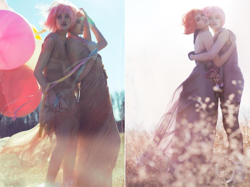 Gigi & Irena by Lara Jade for Material Girl