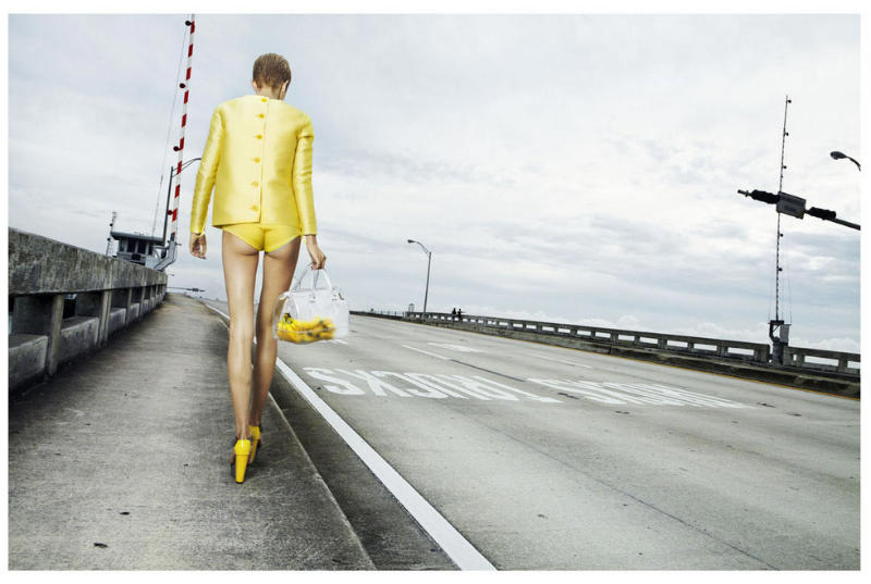 Merethe Hopland by Giulia Noni for French Revue de Modes S/S 2011