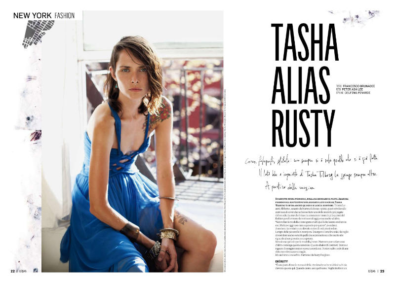 Tasha Tilberg by Peter Ash Lee for Urban May 2011