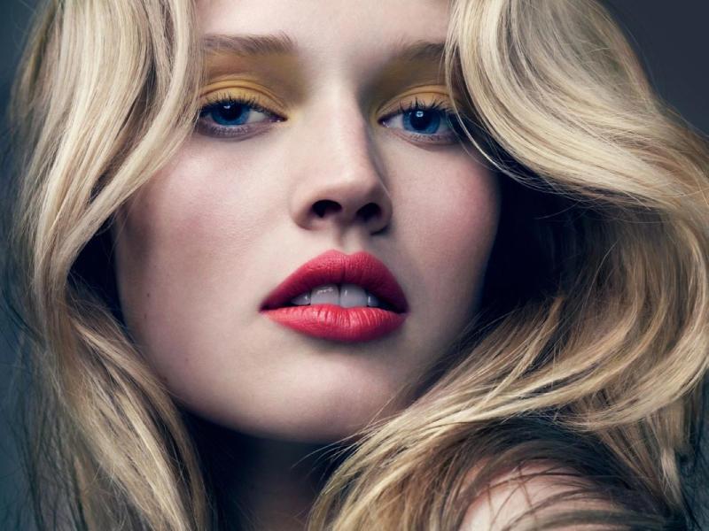 Toni Garrn by David Slijper for Elle France