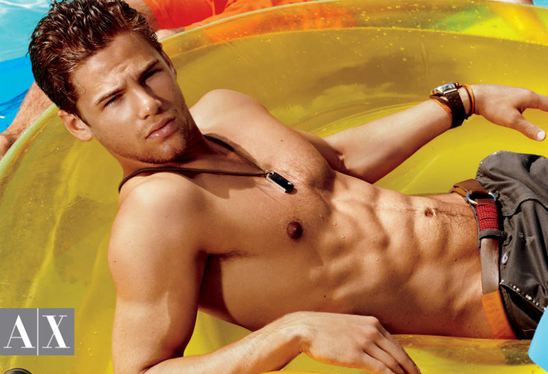 Armani Exchange Summer 2011 Campaign by Matthew Scrivens