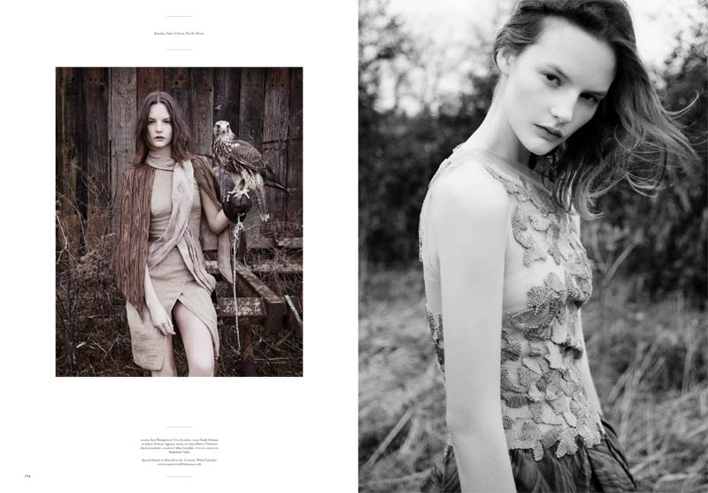 Sara Blomqvist in Rodarte for Twin #4 by Ben Toms
