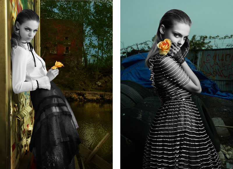 Viktoriya Sasonkina by David Byun for W Asia