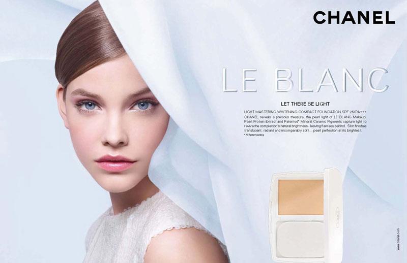 Barbara Palvin for Chanel Le Blanc Campaign