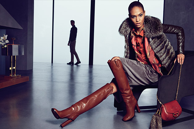 Joan Smalls & Martha Streck for Gucci Fall 2011 Catalogue