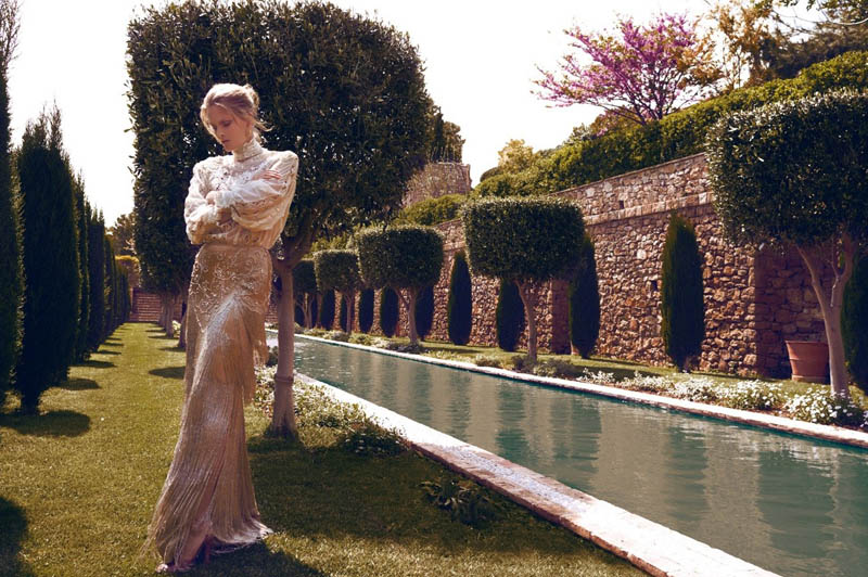 Charlotte Cordes by Koray Birand for Vogue Hellas June 2011