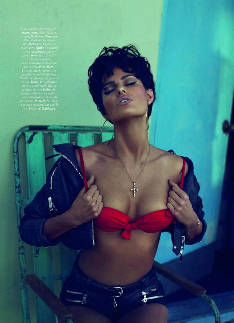 Isabeli Fontana for Vogue Paris June/July 2011 by Mert & Marcus