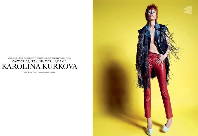 Karolina Kurkova for Viva! Moda Summer 2011 by Marcin Tyszka