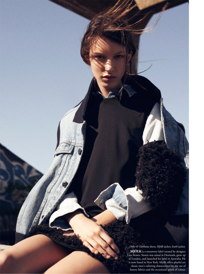 Kate King by Benny Horne for Russh #40