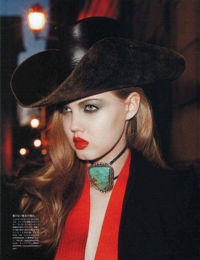 Lindsey Wixson by Terry Richardson for Vogue Nippon June 2011