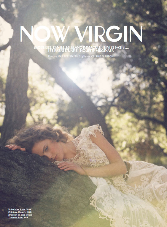 Now Virgin by Harper Smith for Flavor Magazine