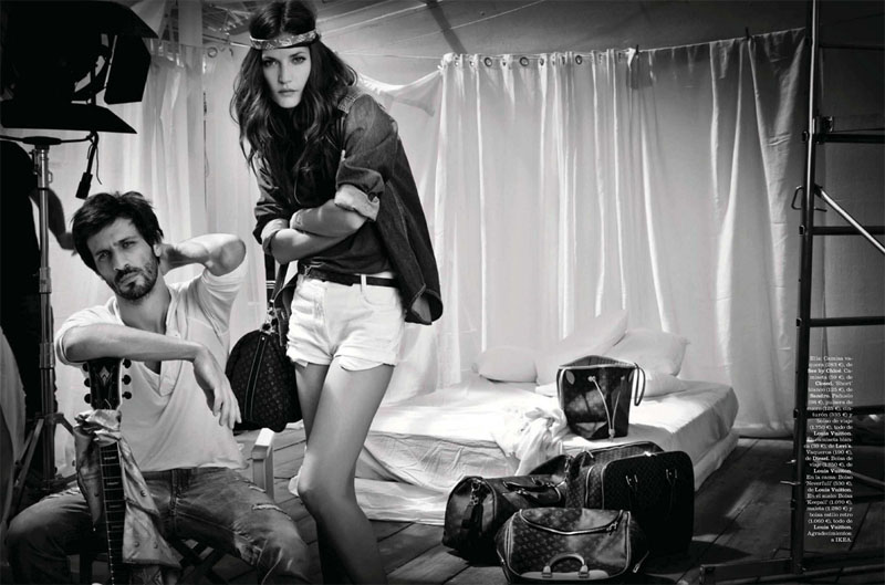 Diana Dondoe by Santiago Esteban for Elle Spain June 2011