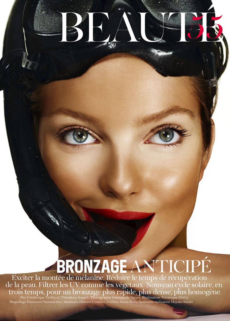 Eniko Mihalik by Giampaolo Sgura for Vogue Paris June/July 2011