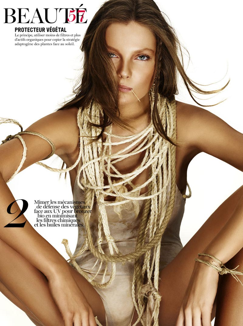 Eniko Mihalik by Giampaolo Sgura for Vogue Paris June/July 2011
