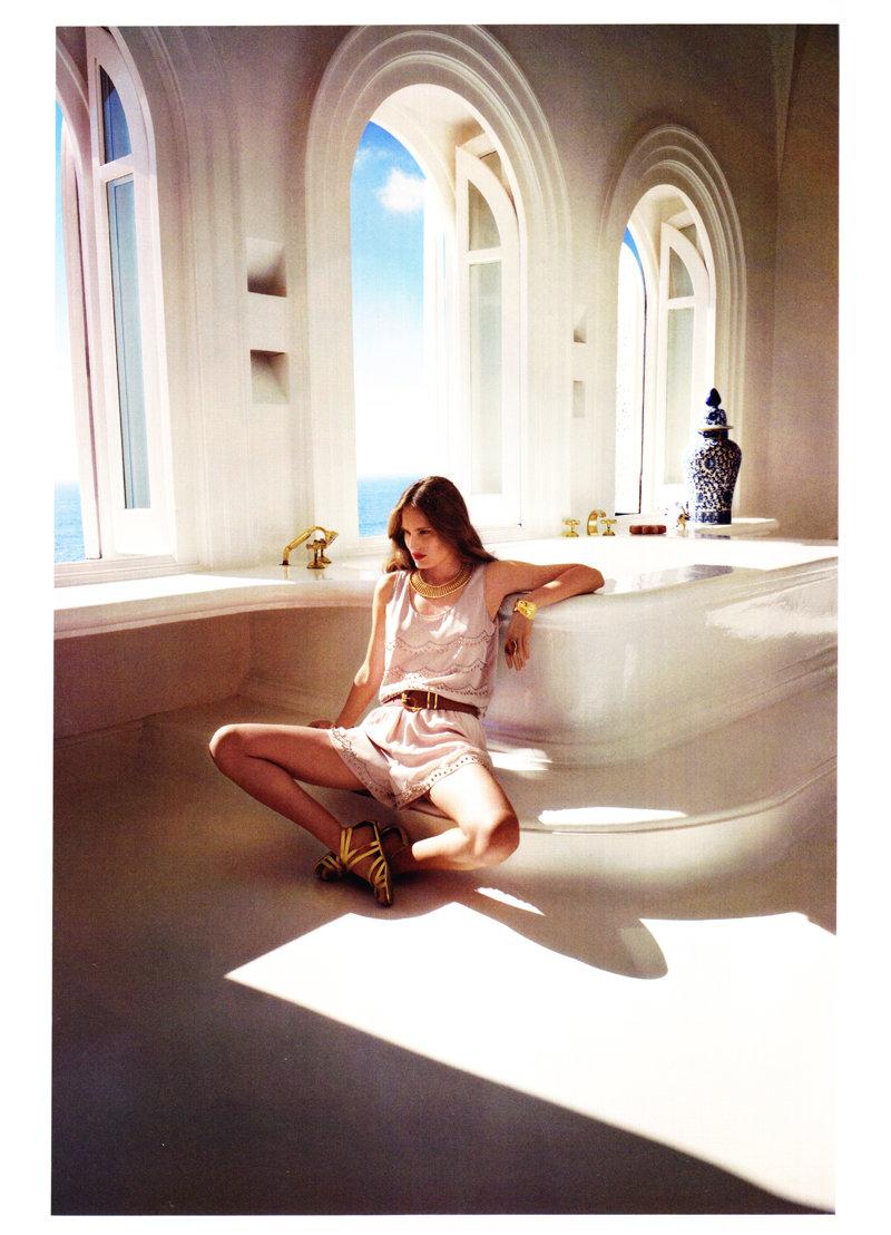 Alla Kostromicheva by Cédric Buchet for H&M Magazine Summer 2011